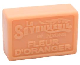 La Savonnerie de Nyons - Marseillezeep Fleur D'Oranger (Sinaasappelbloesem) 100 gram.