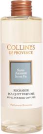 Collines de Provence navulling  geurstokjes Zilverspar 200 ml.