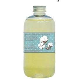 Le Blanc - Navulling & geurstokjes coton 300 ml.