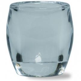 Bolsius glazen theelichthouder Transparant