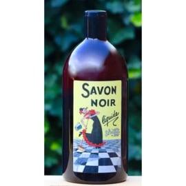 La Savonnerie de Nyons - Savon noir (zwarte zeep) 1 liter.