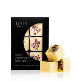 Joik - Badtruffles White Chocolate (witte chocolade) 6 stuks.