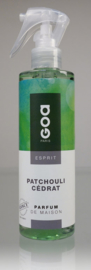 Goa Esprit Huisparfum Verstuiver - Patchouli Cedrat 250 ml.