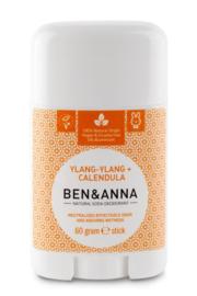 Ben & Anna - Natuurlijke deodorant stick Ylang Ylang & Calendula