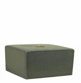 Bigfoot® kaars 0.8 kg marmer grijs