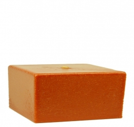 Bigfoot® kaars 0.8 kg marmer rood-bruin