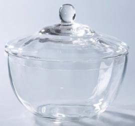 Glazen bewaarpot elegance
