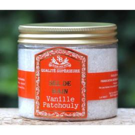 Instants de Provence - Badzout in de geur vanille patchouli 200 gram