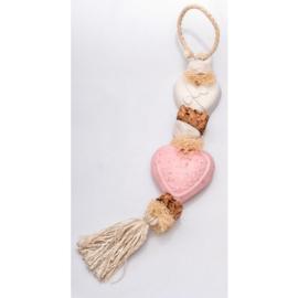 La Savonnerie de Nyons - Zeepketting hart geur rozen