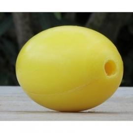 La Savonnerie de Nyons - Zeepbol nostalgisch geel navulling.