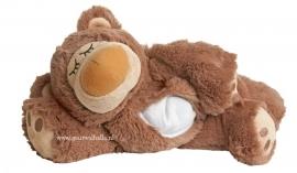 01022U  Warmies warmteknuffel Sleepy Bear bruin (magnetronknuffel)