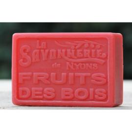 La Savonnerie de Nyons - Marseillezeep Bosvruchten (fruit des bois) 100 gram.