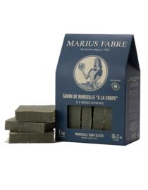Marius Fabre - Marseille olijfzeep ruwe plak 1 kilo.