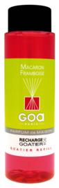 GOA Macaron Framboise Geurstokjes Navulling  250 ml. & Geurstokjes