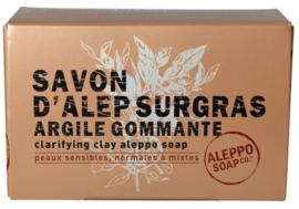 Aleppo Soap Co - Aleppo zeep met klei in doosje 150 gram.