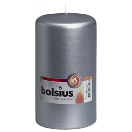 Bolsius Stomp Zilver Ø 150/80