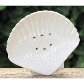 Lumière de Provence - Zeepbakje schelp wit