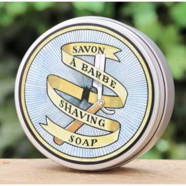 La Savonnerie de Nyons - Scheerzeep met olijfolie 100 gram.