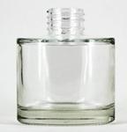 Glazen flesje (diffuser) Rond  100 ml.