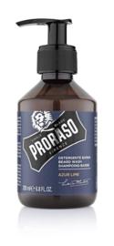 Proraso - Baard shampoo Azur & Lime 200 ml.