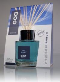 GOA Goatiers Esprit Lin Blanc 200 ml inclusief geurstokjes