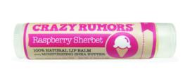 Crazy Rumors - Natuurlijke lip balm Raspberry Sherbet