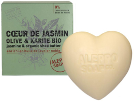 Aleppo Soap Co. - Hartzeep jasmijn in  200 gram.