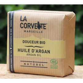 La Corvette - Biologische Marseillezeep  met Arganolie 100 gram