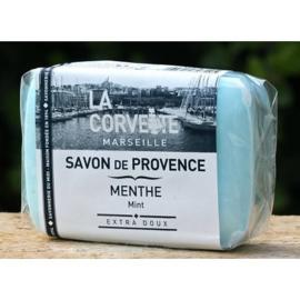 La Corvette - Savon de Marseille munt 100 gram.