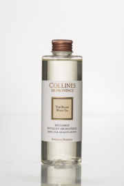 Collines de Provence navulling  geurstokjes Witte Thee 200 ml.