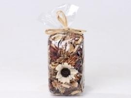 Gemengde potpourri naturel 100 gram geparfumeerd