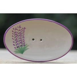 Lumière de Provence - Zeepbakje ovaal bosje lavendel