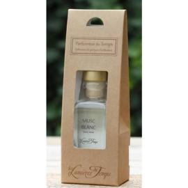 Les Lumières du Temps - Huisparfum Musk Blanc en geurstokjes 100 ml.