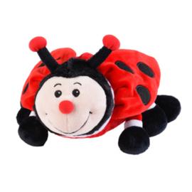 01144 Warmies warmteknuffel Lieveheersbeest (magnetronknuffel)