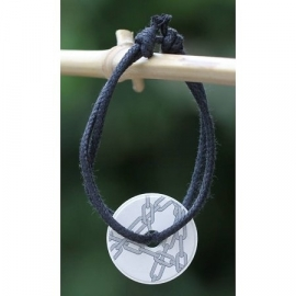 Armband geparfumeerd in (cadeau) doosje rond zilver