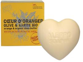 Aleppo Soap Co. - Hartzeep sinaasappelbloesem (fleur d'oranger) 200 gram.