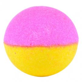 Treets Badbruisbal - Bath Ball Double Dip Pink