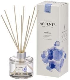 Bolsius Accents Reed Diffuser Spa Time 100 ml.