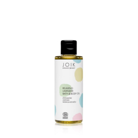 Joik - Biologsich Ontspannende lavendelbad- en lichaamsolie 100 ml.