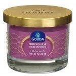 Gouda Geurglas Purper / Hibiscus & red berry 66/88 mm