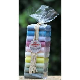 Maitre Savonitto - Set 10 gastenzeepjes 10 geuren en kleuren