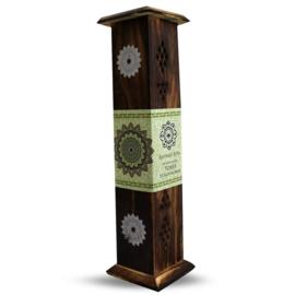 Green Tree - Wierookbrander tower mandala