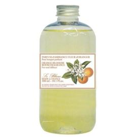 Le Blanc - Navulling & geurstokjes fleur d'oranger 300 ml.