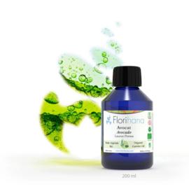 Avocado olie - Plantaardige olie Laurus Persea, bio. Florihana 100 ml t/m 1 l