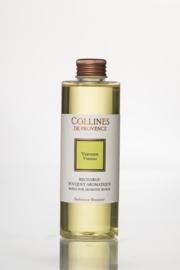 Collines de Provence navulling  geurstokjes Verbena (Verveine) 200 ml.