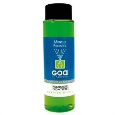 GOA Menthe Froissée  Navulling  250 ml. & geurstokjes