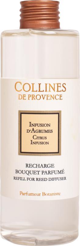 Collines de Provence navulling  geurstokjes Citrusvruchten infusie 200 ml.