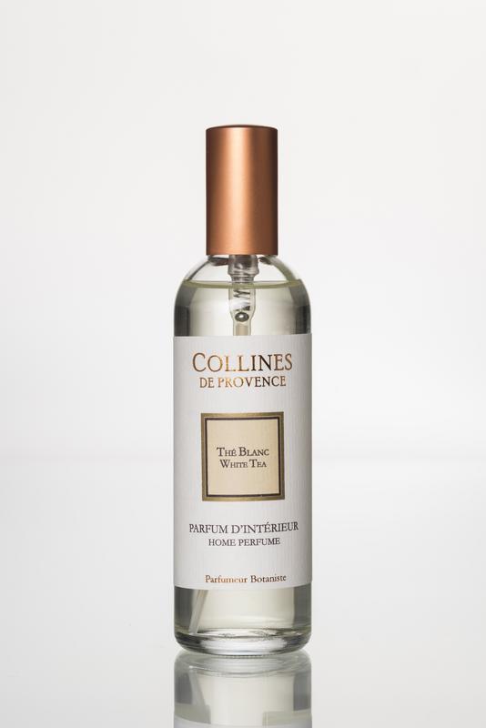 Collines de Provence Huisparfum Witte Thee 100 ml.