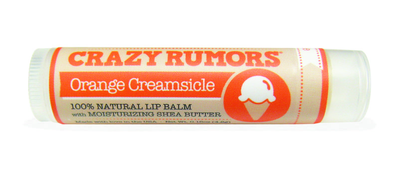 Crazy Rumors - Natuurlijke lip balm Orange Creamsicle