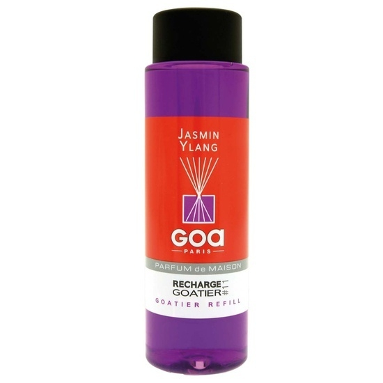 GOA Jasmijn Ylang Geurstokjes Navulling  250 ml. &  geurstokjes